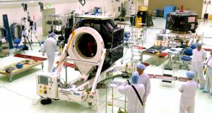RBSP Spacecraft A Solar Array Timelapse