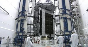 Atlas V MUOS-3 Encapsulation